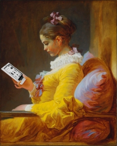 Jean-Honore Fragonard A Young Girl Reading ebook
